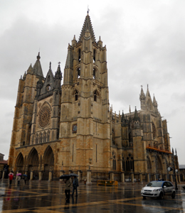 Gothic Cathedral of Leon 2010