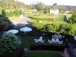 Garden at Hotel O'Pino